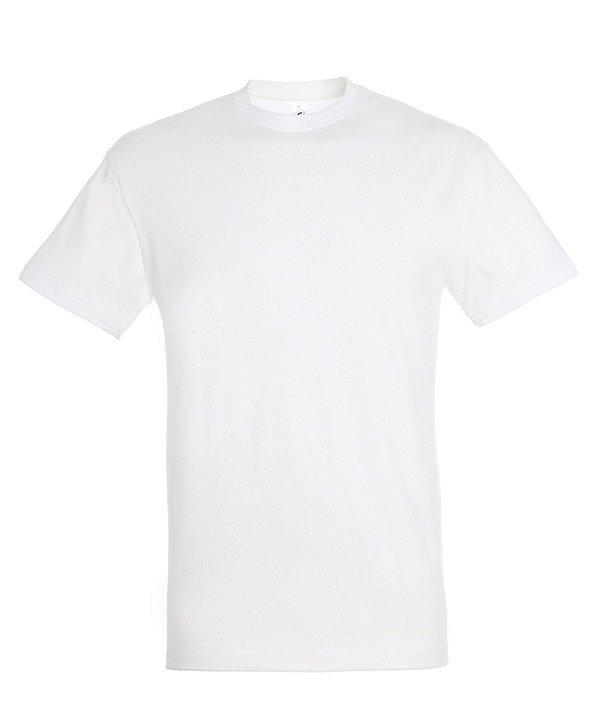 Sols REGENT marškinėliai balti