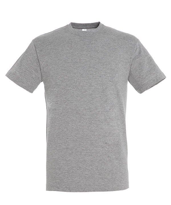 Sols REGENT marškinėliai pilki