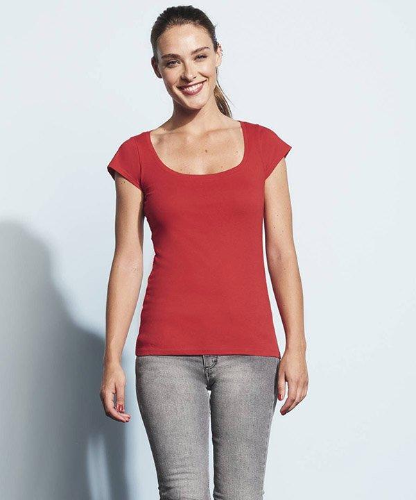 MELROSE moteriški marškinėliai