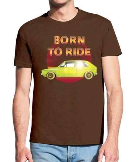"""Vyriški marškinėliai """"Ride"""" , vyriski marskineliai su spauda, originalus marskineliai vyrams su automobiliais"""