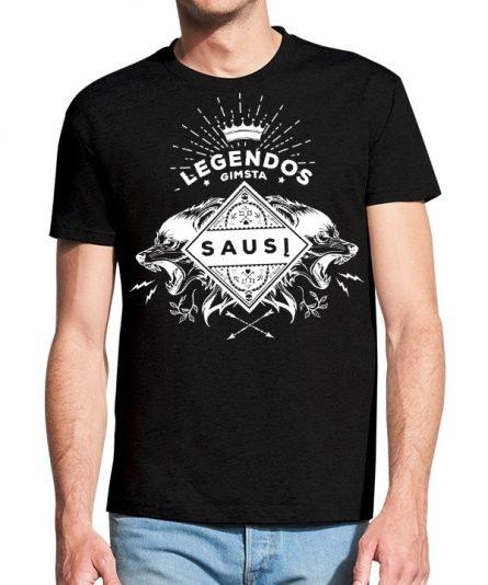 """Vyriški marškinėliai """"Legendos gimsta"""" , vyriski marskineliai su spauda, orginalus marskineliai gimtadieniui, populiarus gimtadienio marskineliai su spauda, linksmi marskineliai, vyriski marskineliai"""