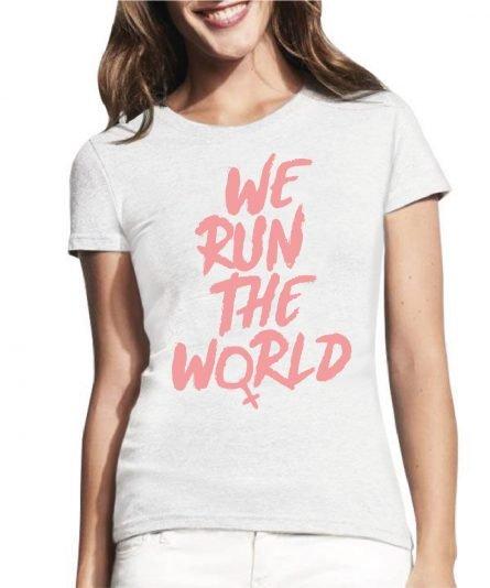 moteriski marskineliai we run the world, marskineliai su spauda, marskineliai draugei, draugiu marskineliai, marskineliai draugems, marskineliai geriausiai draugei