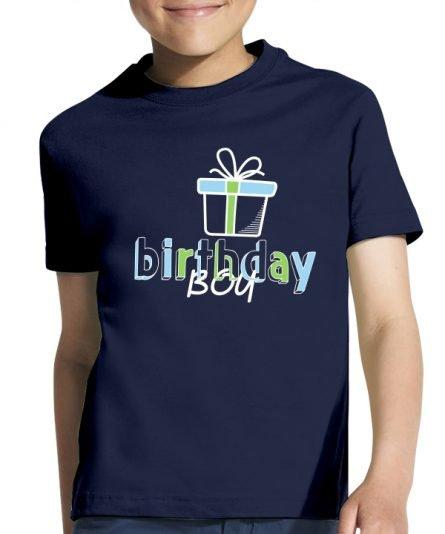 """Vaikiški marškinėliai """"Birthday boy"""" , vaikiski marskineliai su spauda, gimtadieniu marskineliai berniukui, marskineliai gimtadienio proga"""