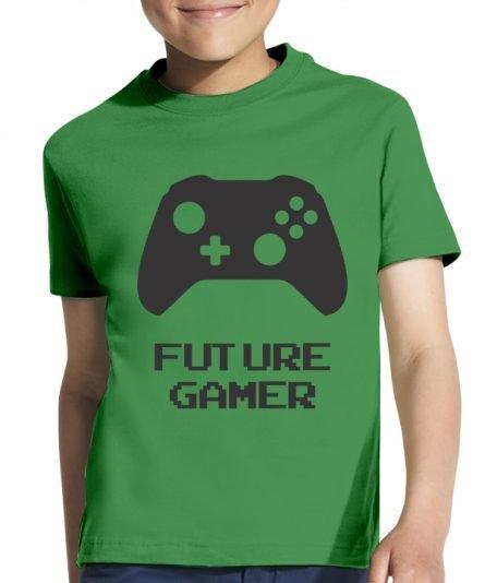"""Vaikiški marškinėliai """"Gamer"""" , vaikiski marskineliai su spauda, seimos marskineliai, marskineliai seimai"""