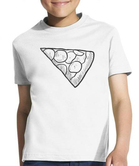 """Vaikiški marškinėliai """"Pica vaikui"""" , vaikiski marskineliai su spauda, seimos marskineliai, originalus marskineliai seimai"""