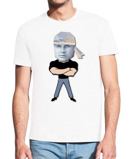 """Vyriški marškinėliai """"Darius 10 Lt."""" , vyriski marskineliai su spauda, marskineliai su lietuviska simbolika"""