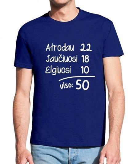 """Vyriški marškinėliai """"Matematika"""" , vyriski marskineliai su spauda, gimtadienio marskineliai, marskineliai gimtadienio progai"""
