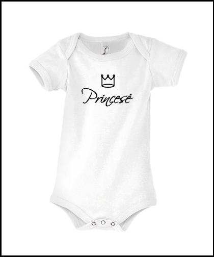 """Vaikiški bodžiukai """"Princesė"""", Marskineliai.lt, susikurkite savo marškinėlius"""