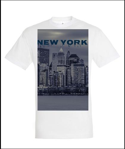 """Universalūs marškinėliai """"NEW YORK CITY"""", Marskineliai.lt, susikurkite savo marškinėlius"""