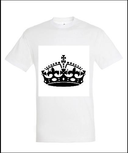 """Universalūs marškinėliai """"King"""", Marskineliai.lt, susikurkite savo marškinėlius"""