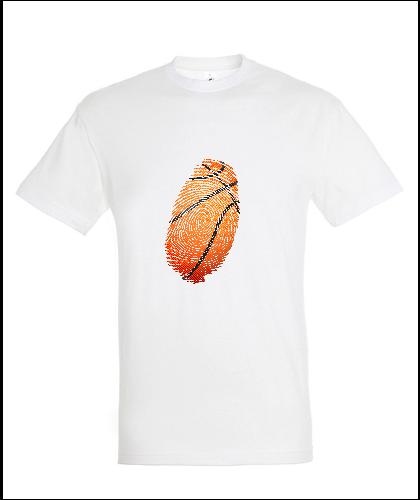 """Universalūs marškinėliai """"Krepšinio antspaudas"""", Marskineliai.lt, susikurkite savo marškinėlius"""