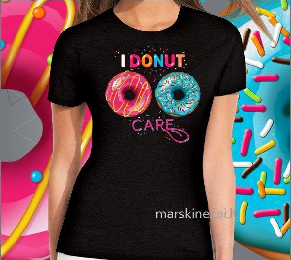 """Marškinėliai moterims """"Donut"""""""