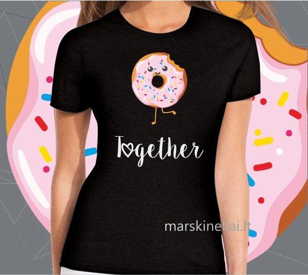 """Marškinėliai moteriški """"Together"""""""