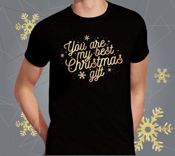 """Marškinėliai vyriški """"Best gift"""""""