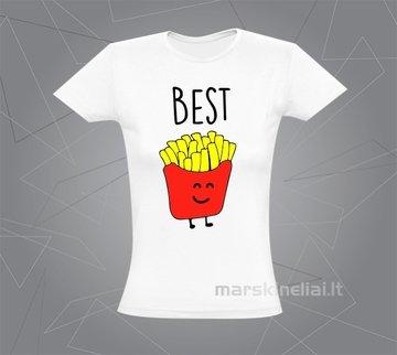 """Moteriški marškinėliai """"Bulvytė"""""""