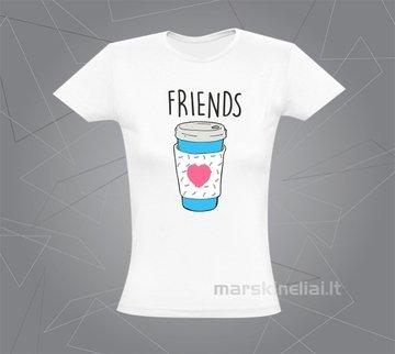 """Moteriški marškinėliai """"Kava"""""""