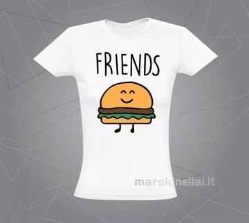 """Moteriški marškinėliai """"Mėsainis"""""""