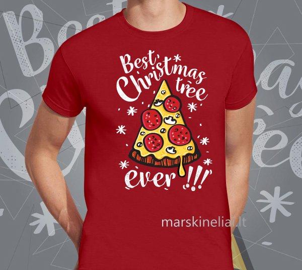 """Universalūs marškinėliai """"Kalėdinė eglutė"""""""