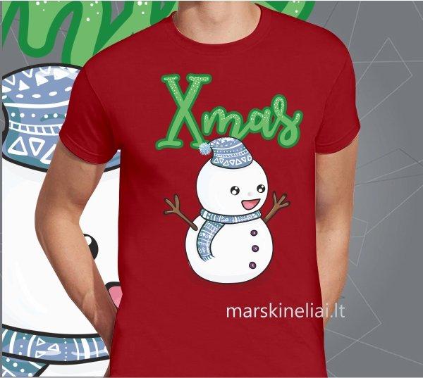 """Universalūs marškinėliai  """"Xmas"""""""