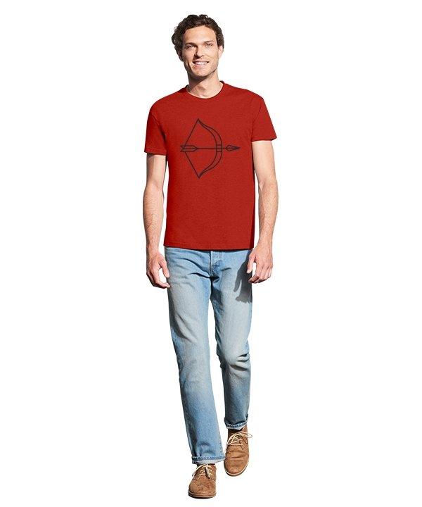 """Vyriški marškinėliai """"Lankas"""" , vyriski marskineliai su spauda, poru marskineliai su spauda, marskineliai poroms, marskineliai vaikinui"""