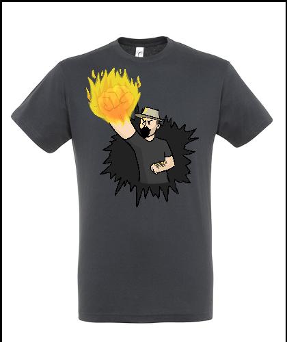 """Universalūs marškinėliai """"Piktojo Tėvo Smūgis"""", Marskineliai.lt, susikurkite savo marškinėlius"""