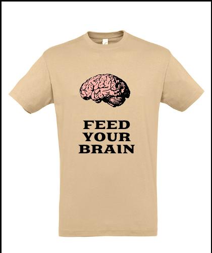 """Universalūs marškinėliai """"Brain"""", Marskineliai.lt, susikurkite savo marškinėlius"""