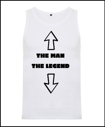 """Vyriški marškinėliai """"LEGENDA"""", Marskineliai.lt, susikurkite savo marškinėlius"""