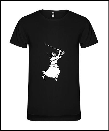 """Vyriški marškinėliai """"Swordsman"""", Marskineliai.lt, susikurkite savo marškinėlius"""