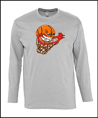 """Vyriški marškinėliai """"Angry Basketball"""", Marskineliai.lt, susikurkite savo marškinėlius"""
