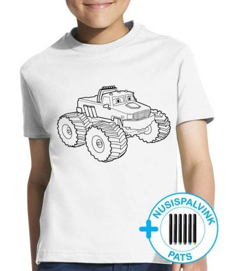 vaikiski maskineliai, marskineliai berniukams, dovana berniukui