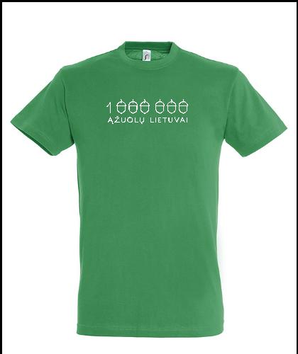 """Universalūs marškinėliai """"Žali marškinėliai"""", Marskineliai.lt, susikurkite savo marškinėlius"""