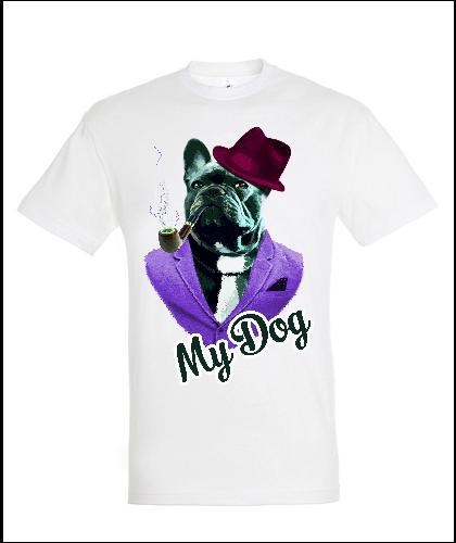 """Universalūs marškinėliai """"Dog In Fashion"""", Marskineliai.lt, susikurkite savo marškinėlius"""