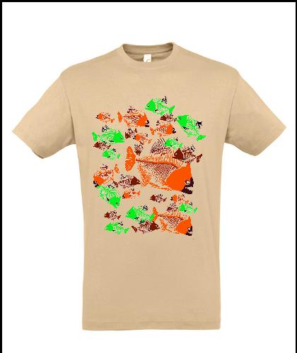 """Universalūs marškinėliai """"Dead Fishes"""", Marskineliai.lt, susikurkite savo marškinėlius"""