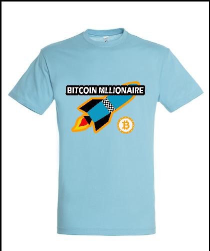 """Universalūs marškinėliai """"Millionaire"""", Marskineliai.lt, susikurkite savo marškinėlius"""