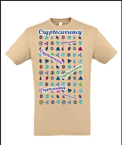 """Universalūs marškinėliai """"Brown Crypto"""", Marskineliai.lt, susikurkite savo marškinėlius"""