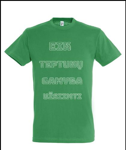 """Universalūs marškinėliai """"Teptukai"""", Marskineliai.lt, susikurkite savo marškinėlius"""