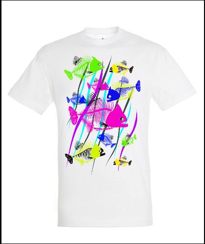 """Universalūs marškinėliai """"Fishe's bones"""", Marskineliai.lt, susikurkite savo marškinėlius"""