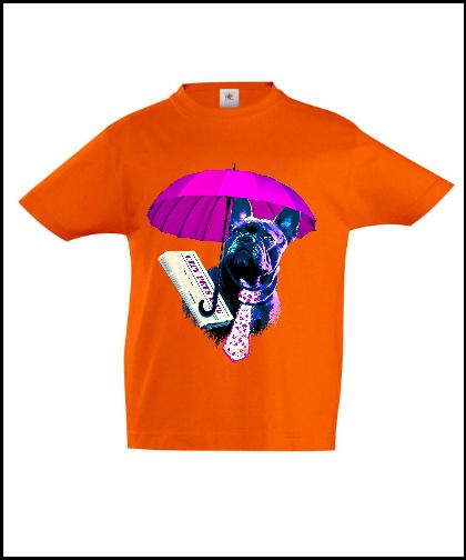 """Universalūs marškinėliai """"Dog in Purple"""", Marskineliai.lt, susikurkite savo marškinėlius"""