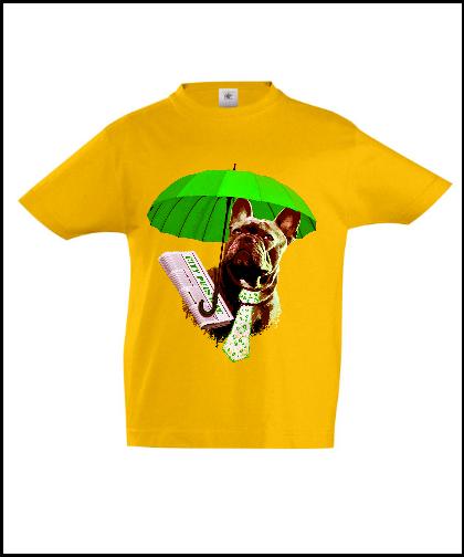 """Universalūs marškinėliai """"Dog in green 02"""", Marskineliai.lt, susikurkite savo marškinėlius"""