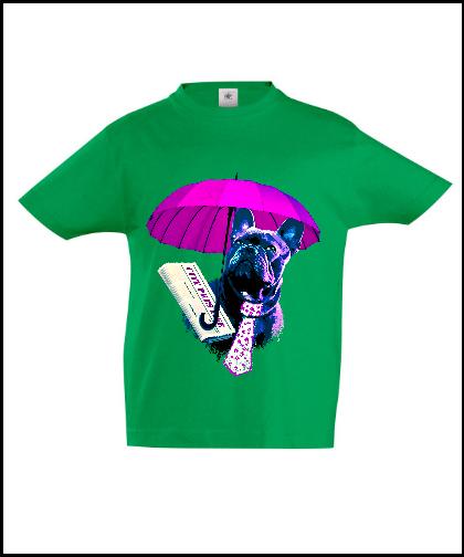 """Vaikiški marškinėliai """"Dog in fashion 3"""", Marskineliai.lt, susikurkite savo marškinėlius"""