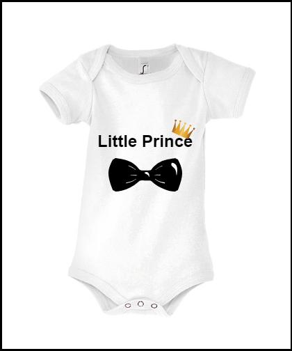 """Vaikiški bodžiukai """"Little Prince"""", Marskineliai.lt, susikurkite savo marškinėlius"""