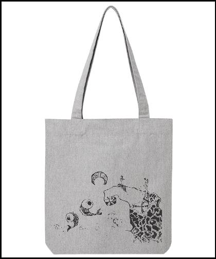 """Universalus drobinis krepšys """"Mėnulio vanduo"""", Marskineliai.lt, susikurkite savo marškinėlius"""