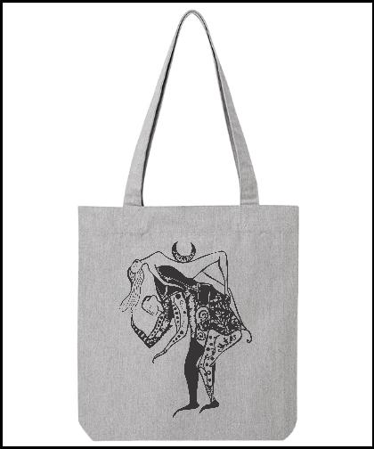 """Universalus drobinis krepšys """"Žvėris"""", Marskineliai.lt, susikurkite savo marškinėlius"""
