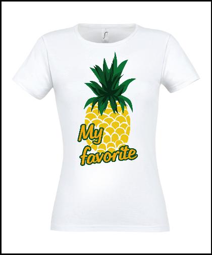 """Moteriški marškinėliai """"My Favorite Pine"""", Marskineliai.lt, susikurkite savo marškinėlius"""