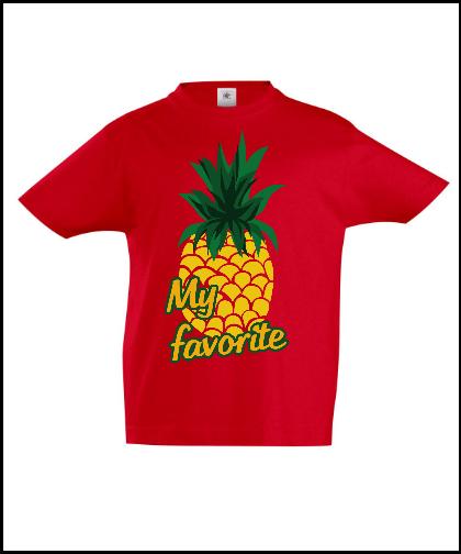 """Vaikiški marškinėliai """"My Pineapple"""", Marskineliai.lt, susikurkite savo marškinėlius"""
