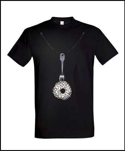 """Universalūs marškinėliai """"0 kcal"""", Marskineliai.lt, susikurkite savo marškinėlius"""