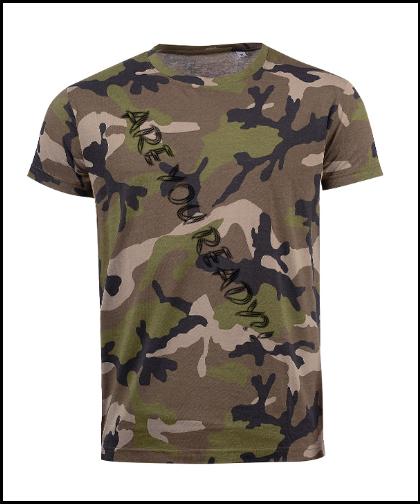 """Vyriški marškinėliai """"AR TU PASIRUOŠĘS?!"""", Marskineliai.lt, susikurkite savo marškinėlius"""