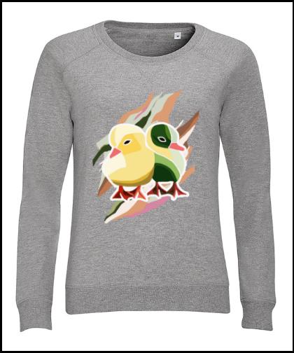 """Moteriškas džemperis """"Pato Amarillo"""", Marskineliai.lt, susikurkite savo marškinėlius"""