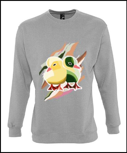 """Universalus džemperis """"Pato Amarillo 1Universalus džemperis """"New supreme'', Marskineliai.lt, susikurkite savo marškinėlius"""
