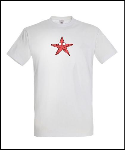 """Universalūs marškinėliai """"Star"""", Marskineliai.lt, susikurkite savo marškinėlius"""